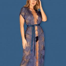 Peignoir Flowlace bleu