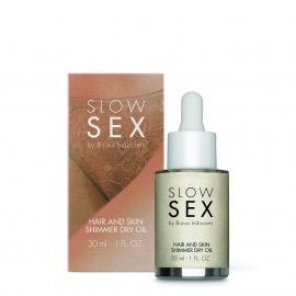 HAIR AND  SKIN SHIMMER DRY OIL SLOW SEX