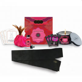 Set de massage saveur fraise Kama Sutra Treasure Trove
